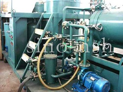 used oil reclamation plant